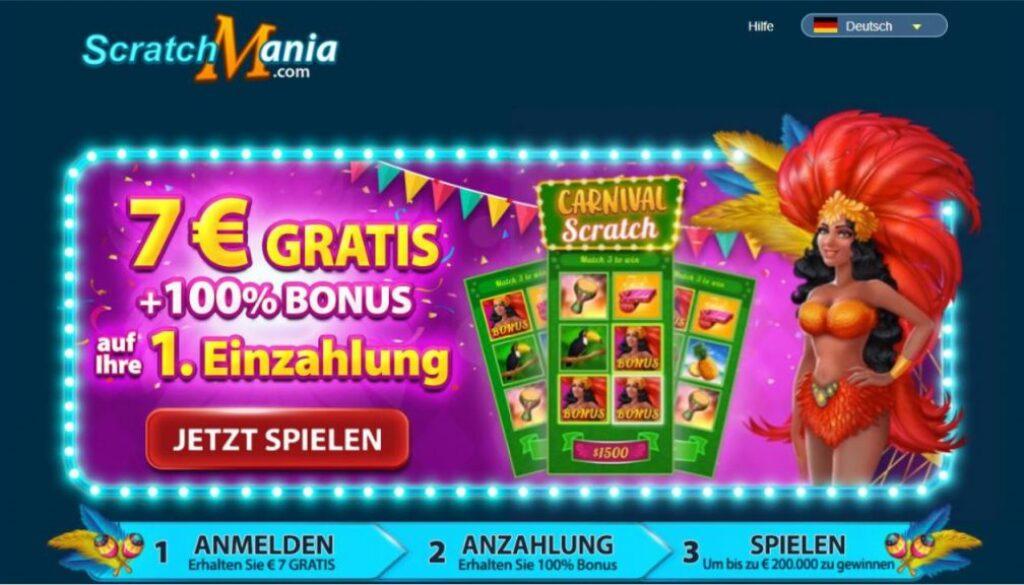 avis scratchmania casino